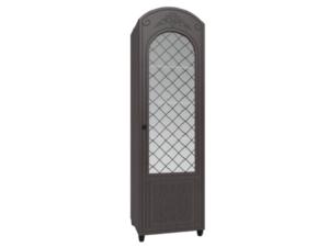 Шкаф-пенал со стеклом «дуга» Соня Премиум СО 14 К