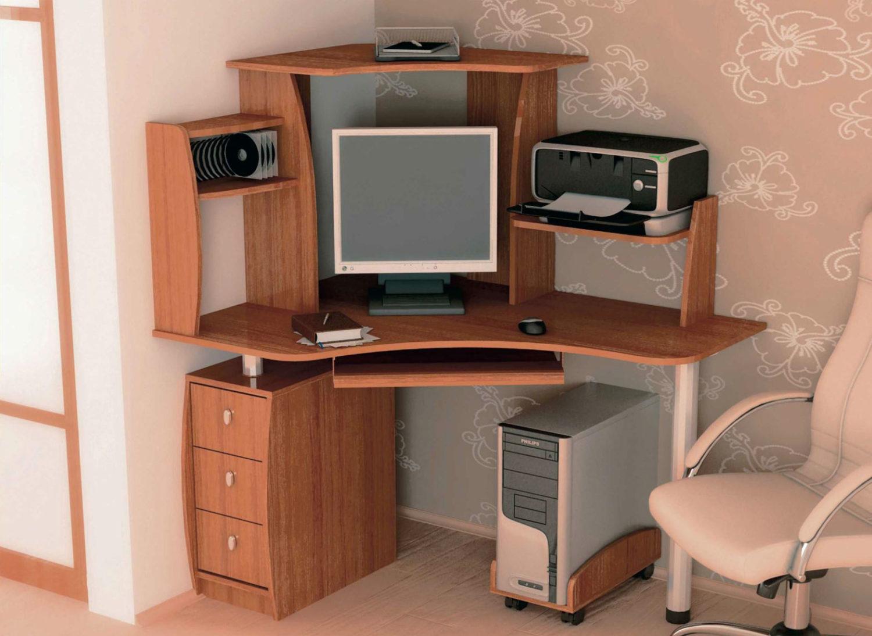 Kazan.mebelcorpus.ru - домашний кабинет - столы компьютерные.