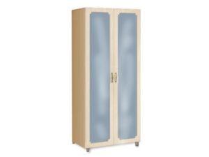 Шкаф со штангой и с зеркалом ШК 914 Виктория МДФ