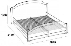 Кровать 180 на 210 см. Палермо МДФ