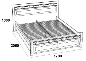 Лолита Кровать 1600