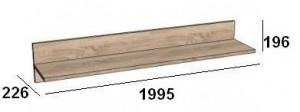 Полка 1995 мм.