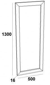 Зеркало в рамке FZ-500
