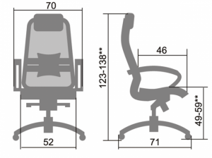 Кресло Samurai S-1