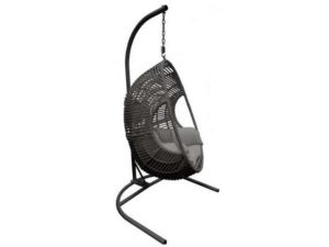 Подвесное кресло Готика из искусственного ротанга 2
