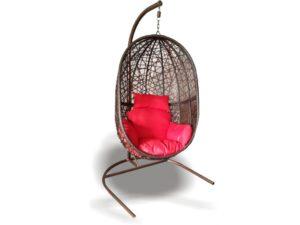 Подвесное кресло Кокон из искусственного ротанга