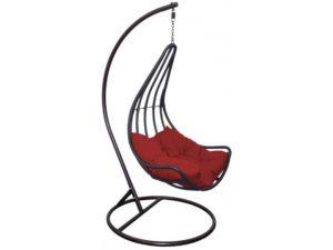 Подвесное кресло Лиана из искусственного ротанга