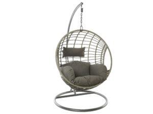 Подвесное кресло Лондон из искусственного ротанга