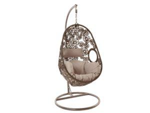 Подвесное кресло Ромашка из искусственного ротанга