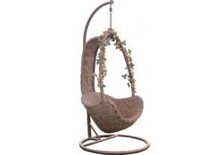 Подвесное кресло Таити из искусственного ротанга