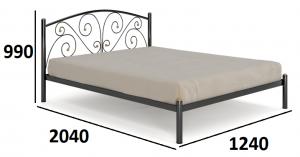 Кровать Батерфляй