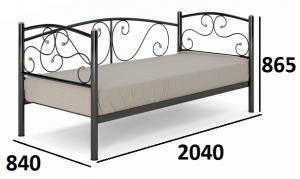 Кровать Сальса-1