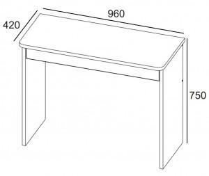 Стол 1S Denver схема