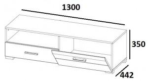 Тумба RTV 1D1S PTYP02 City схема