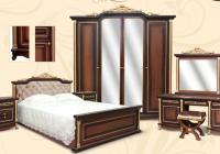 Спальня Ариза орех МДФ 9