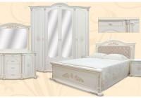 Спальня Роза крем эмаль 7