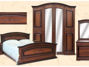 Спальня Венера орех МДФ